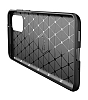 Eiroo Rugged Carbon Samsung Galaxy S20 Siyah Silikon Kılıf - Resim 6