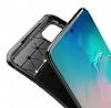 Eiroo Rugged Carbon Samsung Galaxy S20 Siyah Silikon Kılıf - Resim 3