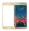 Eiroo Samsung Galaxy J7 / Galaxy J7 Core Curve Tempered Glass Full Gold Cam Ekran Koruyucu - Resim 5