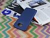 Samsung Galaxy Note 5 Ultra İnce Lacivert Silikon Kılıf - Resim 1