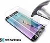Eiroo Samsung Galaxy Note Edge Curve Tempered Glass Beyaz Full Cam Ekran Koruyucu - Resim 2