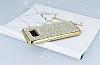 Eiroo Samsung Galaxy S8 Taşlı Gold Silikon Kılıf - Resim 2