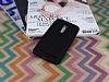Asus ZenFone 2 Deri Desenli Ultra İnce Siyah Silikon Kılıf - Resim 1