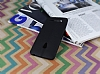 Asus ZenFone 5 Deri Desenli Ultra İnce Siyah Silikon Kılıf - Resim 2