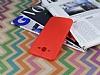 Samsung Galaxy J7 / Galaxy J7 Core Deri Desenli Ultra İnce Kırmızı Silikon Kılıf - Resim 2
