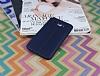 Samsung Galaxy J7 / Galaxy J7 Core Deri Desenli Ultra İnce Lacivert Silikon Kılıf - Resim 1