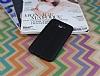 Samsung Galaxy J7 / Galaxy J7 Core Deri Desenli Ultra İnce Siyah Silikon Kılıf - Resim 1