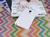 Samsung Galaxy Note Edge Deri Desenli Ultra İnce Şeffaf Beyaz Silikon Kılıf - Resim 1