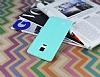 Samsung Galaxy Note Edge Deri Desenli Ultra İnce Su Yeşili Silikon Kılıf - Resim 2
