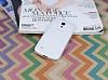 Samsung i9190 Galaxy S4 mini Deri Desenli Ultra İnce Şeffaf Silikon Kılıf - Resim 1