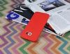 Samsung i9800 Galaxy S6 Deri Desenli Ultra İnce Kırmızı Silikon Kılıf - Resim 2