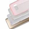Eiroo Silvery Samsung Galaxy S8 Simli Pembe Silikon Kılıf - Resim 1