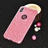 Eiroo Silvery Xiaomi Mi 5s Plus Simli Selfie Yüzüklü Kırmızı Silikon Kılıf - Resim 2