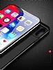 Eiroo Simplified Samsung Galaxy A8 2018 Lacivert Silikon Kılıf - Resim 1