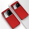 Eiroo Simplified Samsung Galaxy S9 Plus Kırmızı Silikon Kılıf - Resim 1
