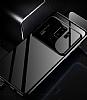 Eiroo Simplified Samsung Galaxy S9 Lacivert Silikon Kılıf - Resim 2