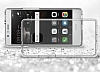 Eiroo Slim Hybrid Huawei P9 Lite Silikon Kenarlı Şeffaf Rubber Kılıf - Resim 4