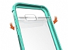 Eiroo Slim Hybrid Samsung Galaxy A7 2017 Silikon Kenarlı Şeffaf Rubber Kılıf - Resim 1