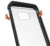 Eiroo Slim Hybrid Samsung Galaxy S7 Silikon Kenarlı Şeffaf Rubber Kılıf - Resim 2