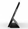 Eiroo Smart iPad Air / iPad 9.7 Kapaklı Siyah Deri Kılıf - Resim 1