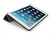Eiroo Smart iPad Mini / Mini 2 / Mini 3 Kapaklı Siyah Deri Kılıf - Resim 2
