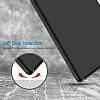 Eiroo Smart iPad Pro 10.5 Kapaklı Siyah Deri Kılıf - Resim 3