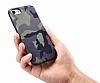 Eiroo Soldier Samsung Galaxy Note 5 Kahverengi Silikon Kılıf - Resim 3