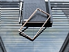 Eiroo Sony Xperia M4 Aqua Gold Çizgili Round Metal Bumper Çerçeve Gold Kılıf - Resim 2