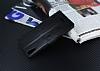 Eiroo Sony Xperia T3 Cüzdanlı Yan Kapaklı Siyah Deri Kılıf - Resim 4