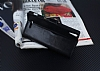 Eiroo Sony Xperia T3 Cüzdanlı Yan Kapaklı Siyah Deri Kılıf - Resim 2
