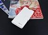 Eiroo Sony Xperia XA Cüzdanlı Yan Kapaklı Beyaz Deri Kılıf - Resim 2