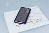 Eiroo Sony Xperia XA Taşlı Siyah Silikon Kılıf - Resim 1
