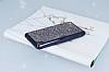 Eiroo Sony Xperia XA Taşlı Siyah Silikon Kılıf - Resim 2
