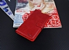 Eiroo Sony Xperia XA Ultra Cüzdanlı Yan Kapaklı Kırmızı Deri Kılıf - Resim 3