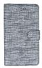 Eiroo Tabby Samsung Galaxy S20 Cüzdanlı Kapaklı Gri Deri Kılıf