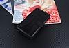 Eiroo Thunder Samsung Galaxy On7 Standlı Cüzdanlı Siyah Deri Kılıf - Resim 1