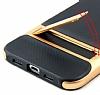 Eiroo Tiger Power Xiaomi Mi 6 Standlı Ultra Koruma Rose Gold Silikon Kılıf - Resim 2