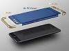 Eiroo Trio Fit Huawei P10 3ü 1 Arada Gold Kenarlı Siyah Rubber Kılıf - Resim 4