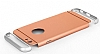 Eiroo Trio Fit iPhone 6 Plus / 6S Plus 3ü 1 Arada Gold Rubber Kılıf - Resim: 1
