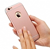 Eiroo Trio Fit iPhone 6 Plus / 6S Plus 3ü 1 Arada Rose Gold Rubber Kılıf - Resim: 5