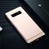 Eiroo Trio Fit Samsung Galaxy Note 8 3ü 1 Arada Gold Rubber Kılıf - Resim 6