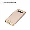 Eiroo Trio Fit Samsung Galaxy Note 8 3ü 1 Arada Gold Rubber Kılıf - Resim 3
