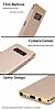 Eiroo Trio Fit Samsung Galaxy Note 8 3ü 1 Arada Gold Rubber Kılıf - Resim 5