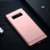 Eiroo Trio Fit Samsung Galaxy Note 8 3ü 1 Arada Rose Gold Rubber Kılıf - Resim 6