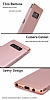 Eiroo Trio Fit Samsung Galaxy Note 8 3ü 1 Arada Rose Gold Rubber Kılıf - Resim 5