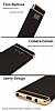 Eiroo Trio Fit Samsung Galaxy Note 8 3ü 1 Arada Siyah Rubber Kılıf - Resim 5