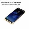 Eiroo Trio Fit Samsung Galaxy Note 8 3ü 1 Arada Siyah Rubber Kılıf - Resim 2