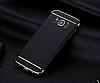 Eiroo Trio Fit Samsung Galaxy S8 Plus 3ü 1 Arada Siyah Rubber Kılıf - Resim 4