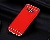 Eiroo Trio Fit Samsung Galaxy S8 3ü 1 Arada Kırmızı Rubber Kılıf - Resim 4