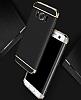 Eiroo Trio Fit Samsung Galaxy S8 3ü 1 Arada Silver Rubber Kılıf - Resim 3